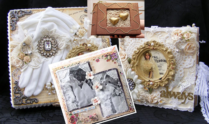 выбор стиля свадебного альбома