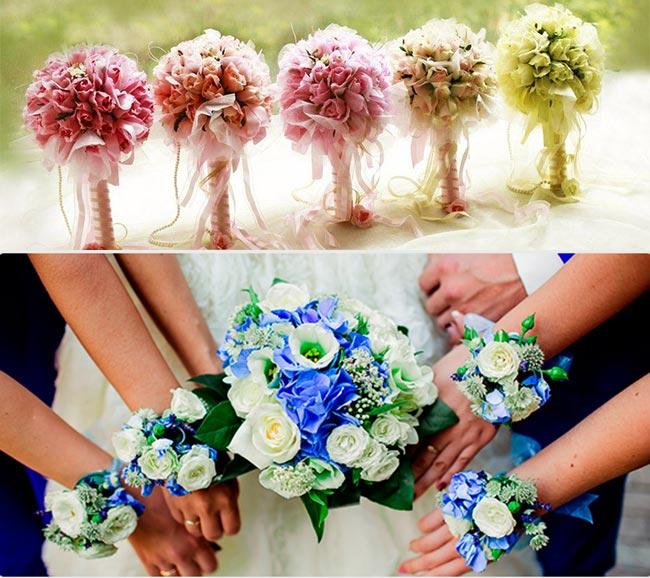 Как подобрать красивый букет невесте?