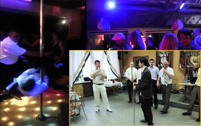 Конкурс - Танец со шваброй на свадьбе