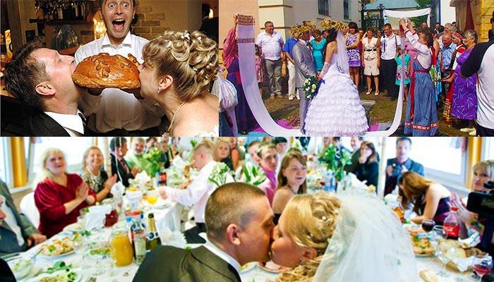 Основные свадебные традиции, горько и каравай