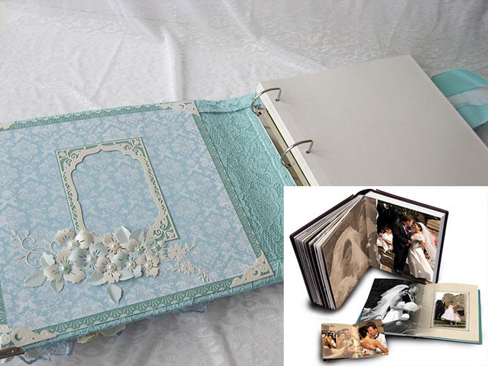 подсчет объема листов для свадебного альбома