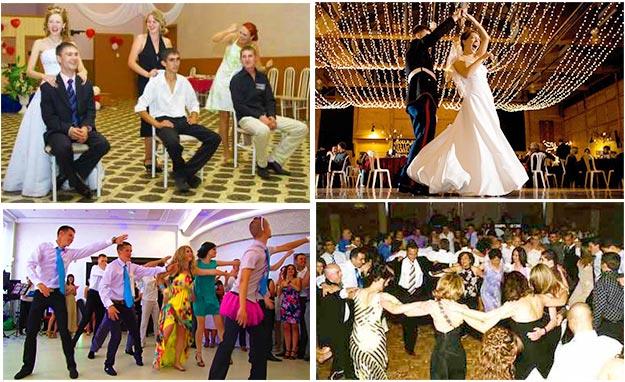 Варианты развлекательной свадебной программы.