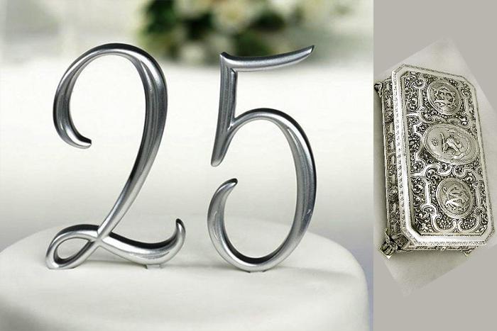 Символика серебряной свадьбы