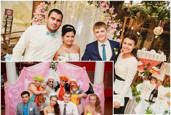 Стеллаж для фотосессии на свадьбу