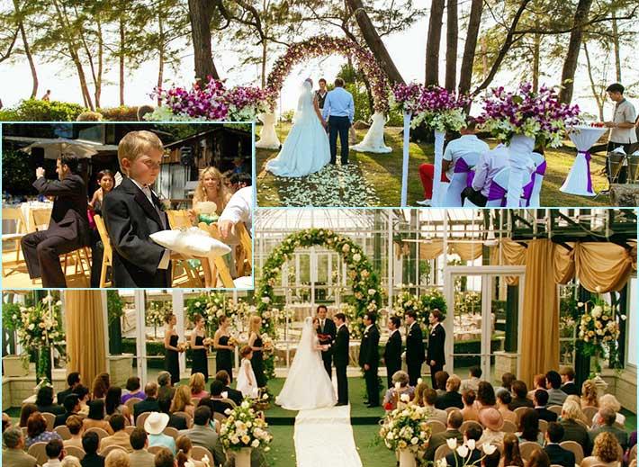 Венчание в американской традиции