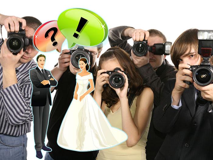 Выбор фотографа на свадьбу