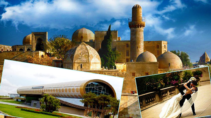 Медовый месяц в Азербайджане