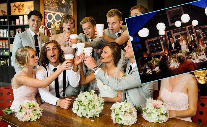 Меню маленькой свадьбы