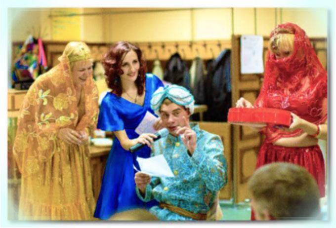 Поздравительные сценки для молодоженов на свадьбу