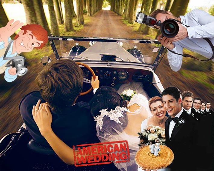 Свадебная прогулка по-американски