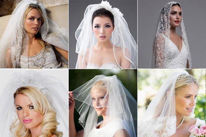 Советы свадебных стилистов по выбору фаты