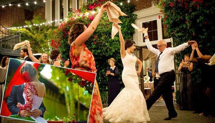 Современная испанская свадьба
