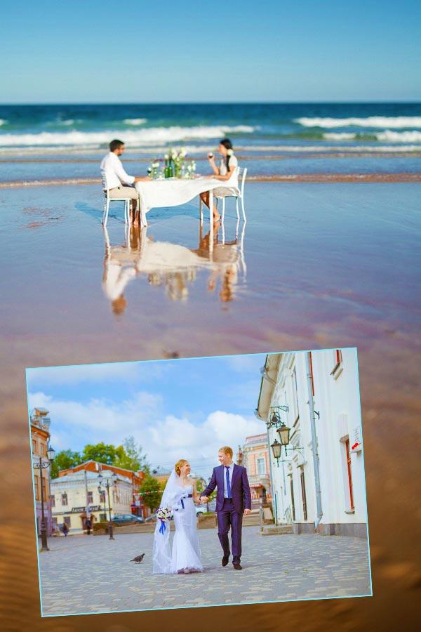 Способы отметить свадьбу вдвоем