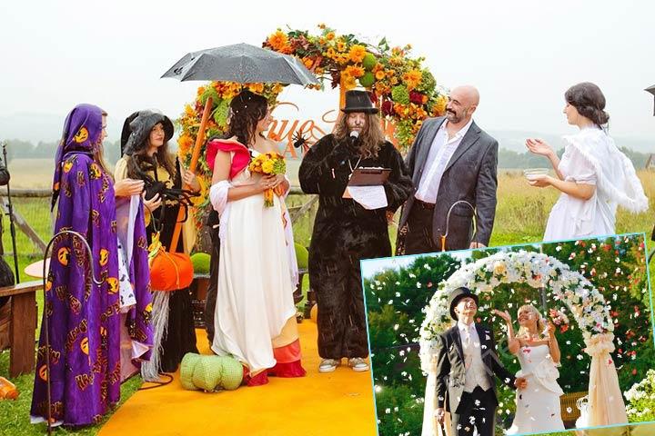 Сюжетная свадьба