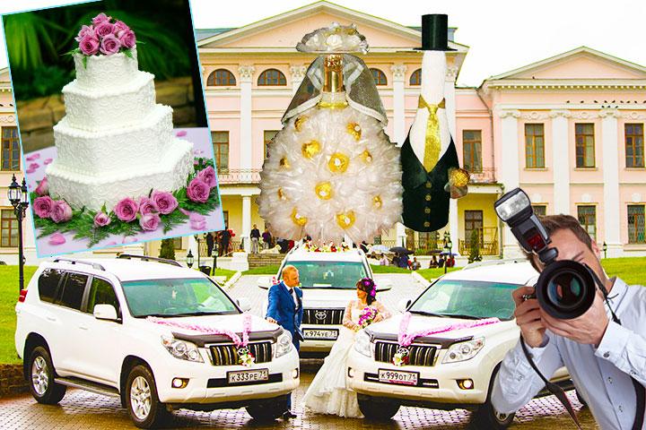 Бюджет на дополнительные свадебные услуги