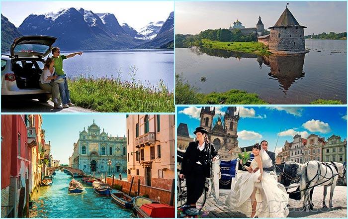 Выбор где провести медовый месяц