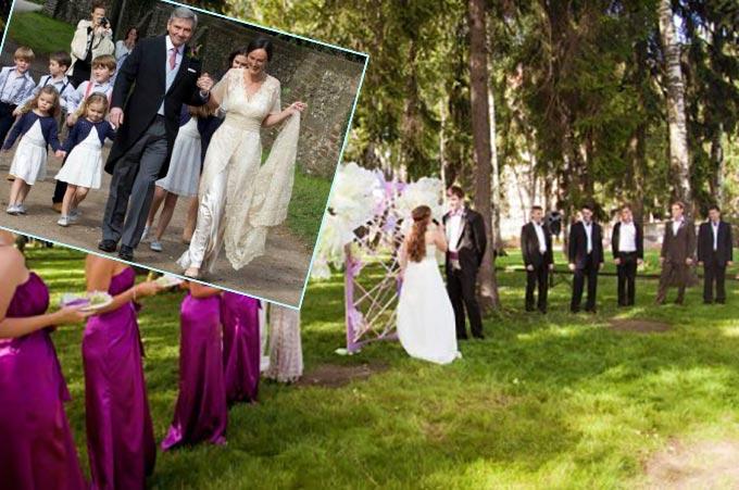 Европейский ритуал бракосочетания