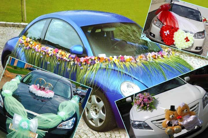 Игрушки, фигурки для свадебного украшения автомобиля