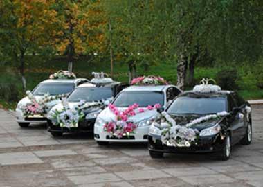 Выбор машины на свадьбу, какую выбрать