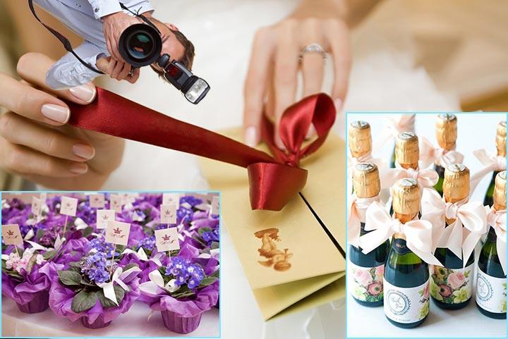 Подарки маленькой свадьбы