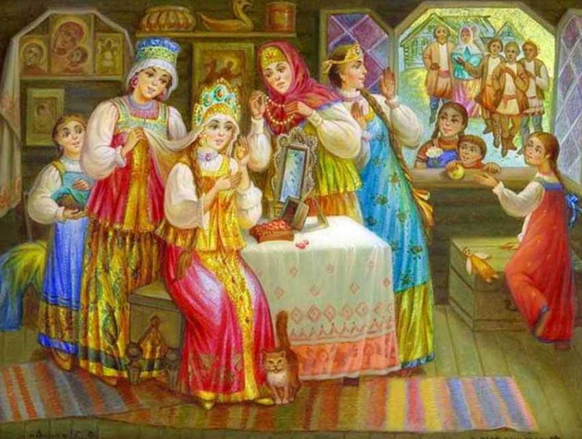 Наряд русской невесты