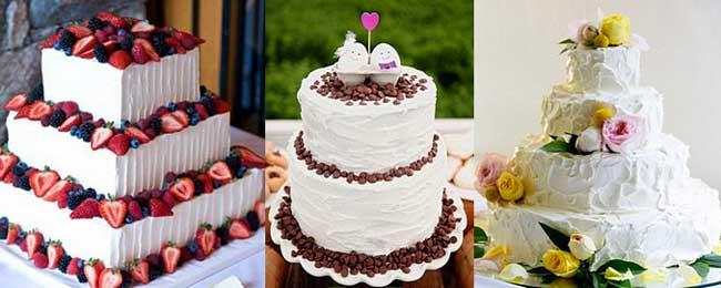Украшаем свадьбу тортом