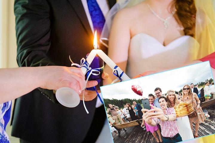 Свадебные конкурсы на 2 день