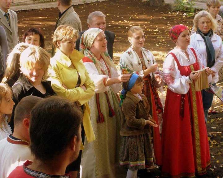 Свадьба по русским сказкам