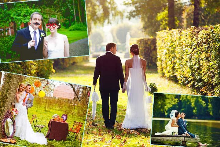 Сюжеты для свадебной фотосессии