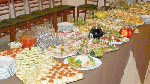 Как сформировать меню на свадьбу?