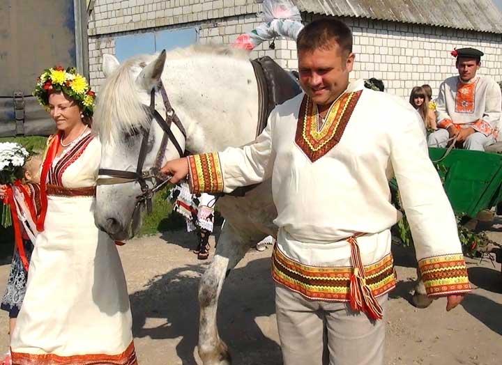 Языческая свадьба и её празднование