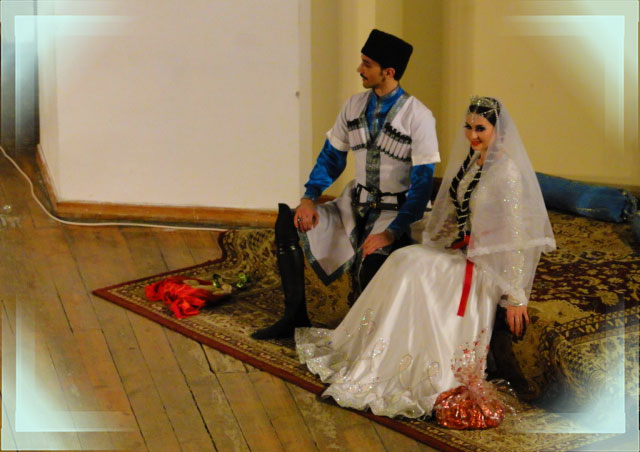 Азербайжанские молодожены