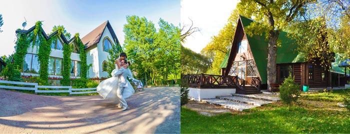 Выбор коттеджа для свадьбы