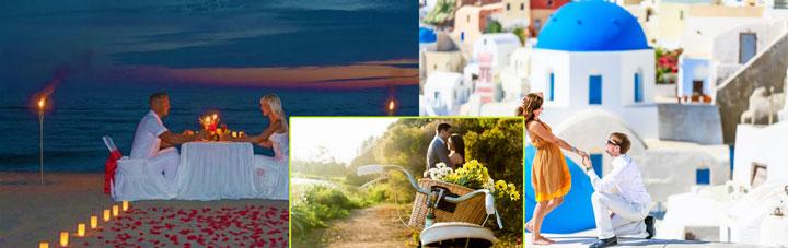 Варианты мест для признаний в любви и предложений замуж