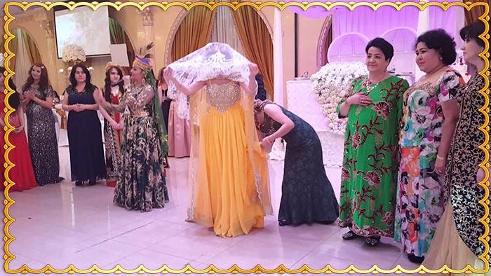 Ритуал с принятием дома узбекской жены