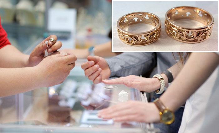 Как и когда подбирают обручальные кольца