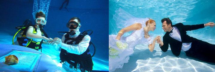 Мальдивы и свадьба под водой