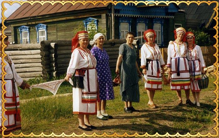 Обряды сватовства по чувашски