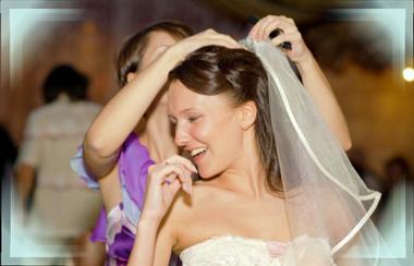 Обряд снятия фаты с невесты