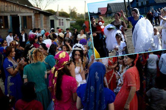 Обряды на свадьбе у цыган
