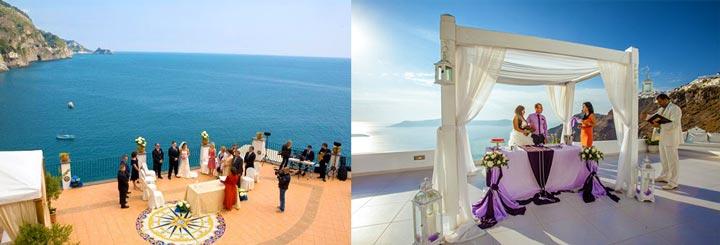 Варианты свадеб за границей