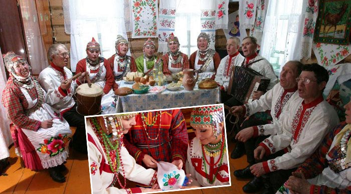 Подготовка к чувашской свадьбе