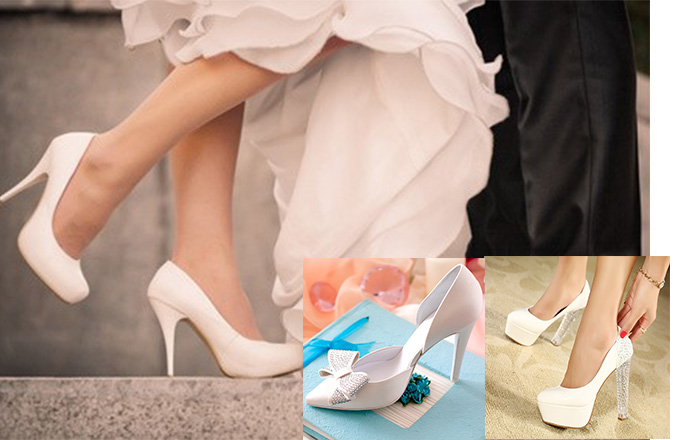 Туфли арзного фасона на свадьбу