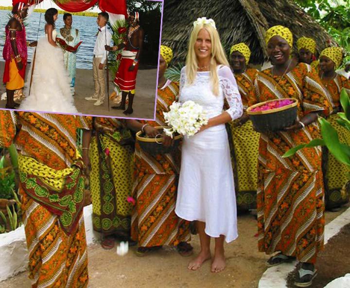 Невеста и свадьба в Африке
