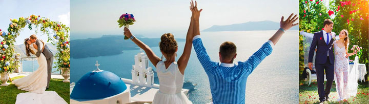 Сюжеты свадьбы в августе