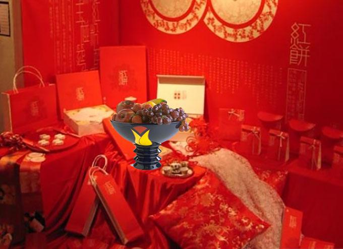 Чаша с фруктами и китайское приданое невесты