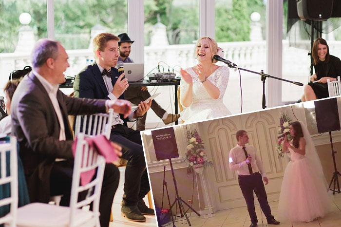 Признание в любви песней на свадьбе