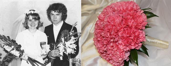 Свадебный букет в СССР