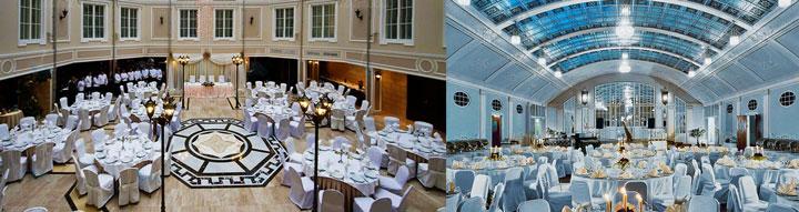 Гранд-отели и банкеты для свадеб
