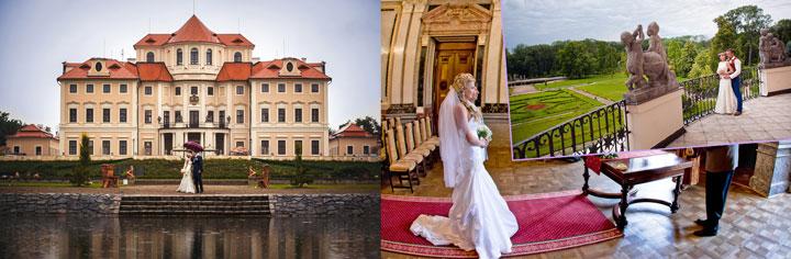 Замок Либлиц в Чехии и свадьба